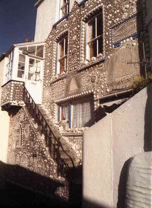 The Shell House, The Warren, Polperro - September 2000 - photo:R.J.Tarr
