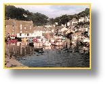 In Polperro Harbour, early morning - photo:RJT