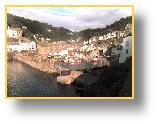 Polperro, sunny morning 1999 - photo: RJT